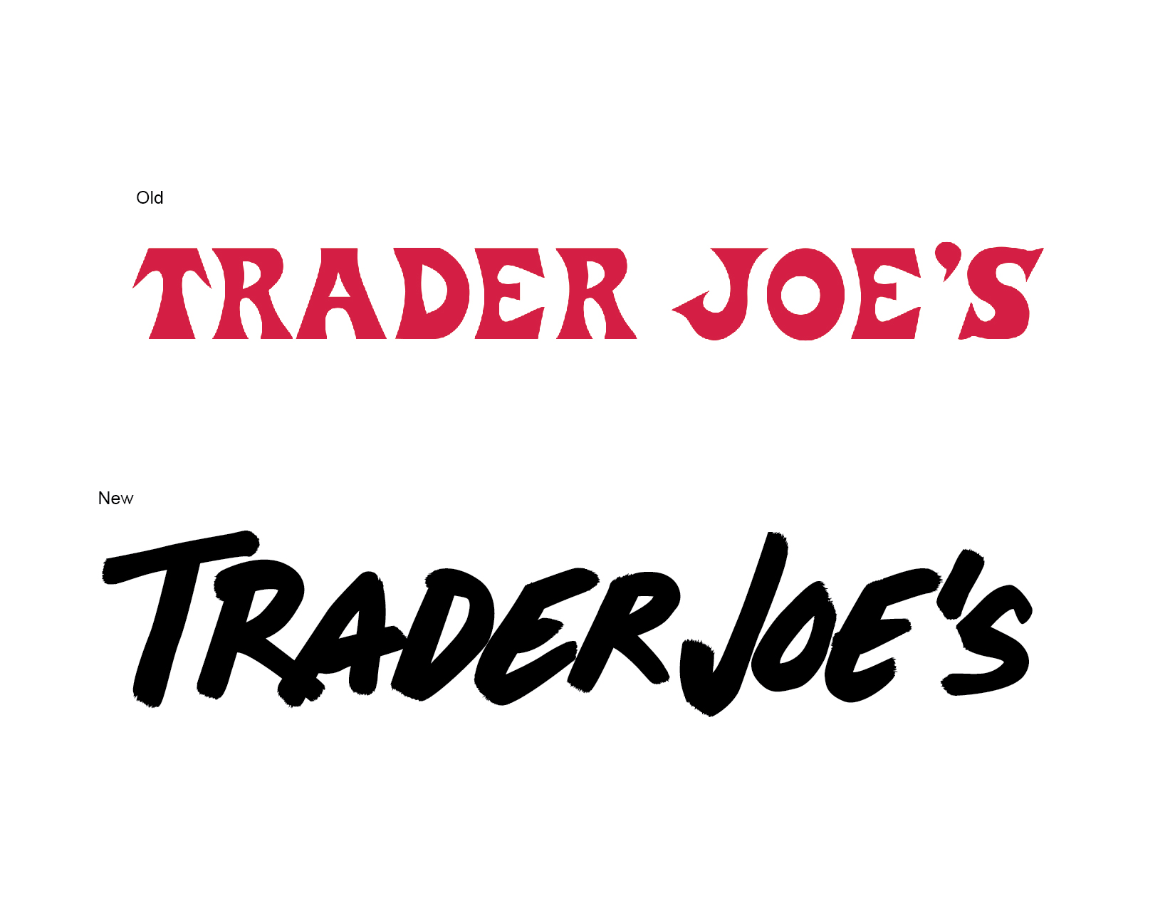 Old Trader Joe\'s logo vs. redesigned Trader Joe\'s logo – Cheyenne ...